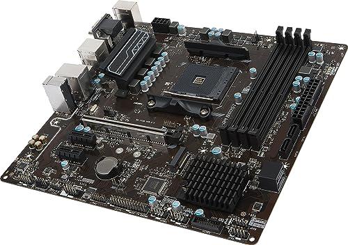 MSI B350M PRO-VDH Micro ATX Motherboard