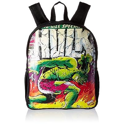 BB Designs Stylish Comics Close Up Design Marvel Hulk Backpack