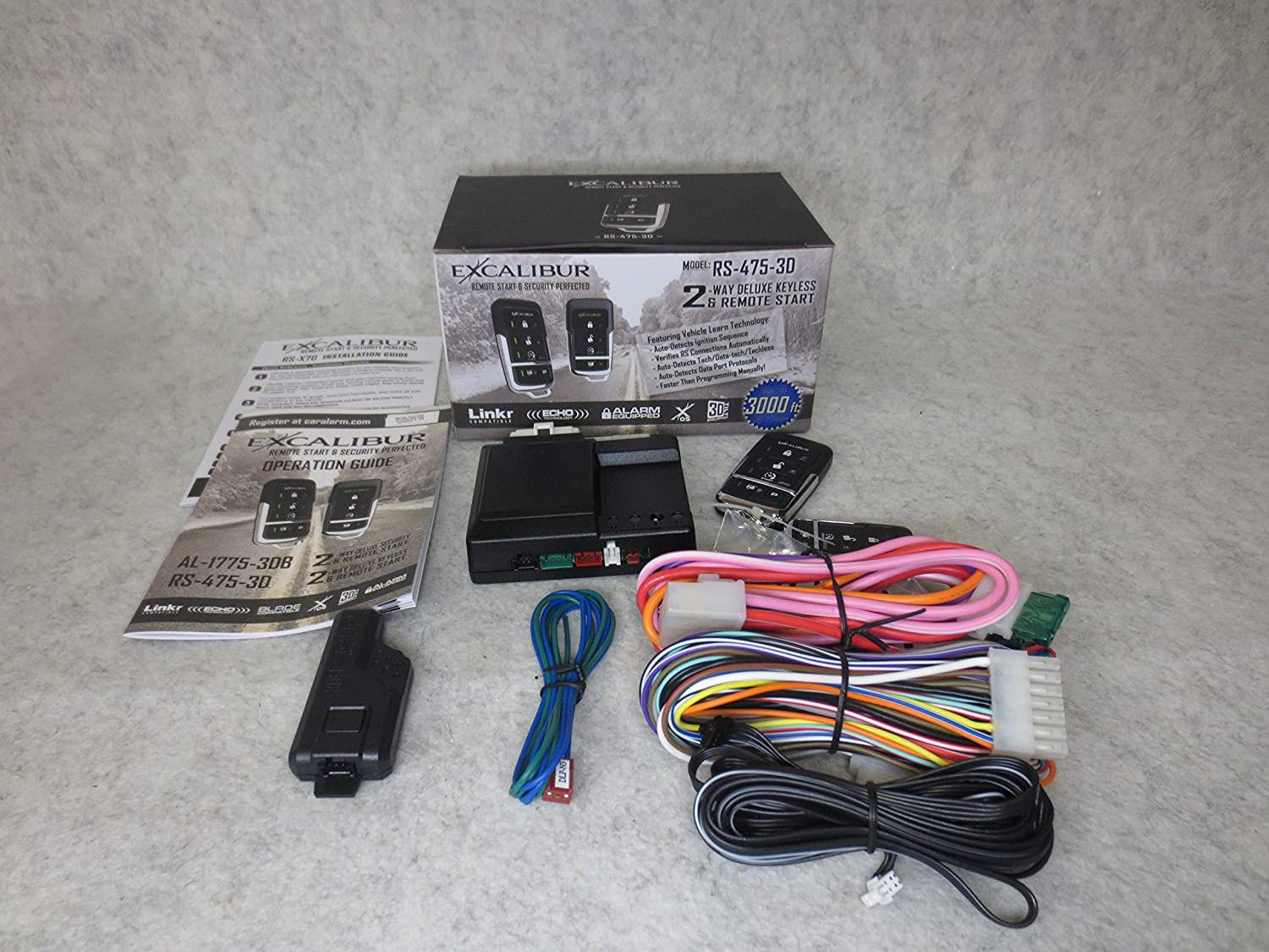Amazing Jem Wiring Diagram Tiny Bulldog Security Products Flat Bulldog Security Remote Vehicle Starter System Bulldog Security Alarm Young Les Paul 3 Way Switch RedBulldog Remote Car Starters Amazon.com: EXCALIBUR RS 475 3D   Deluxe LED 2 Way Remote Start ..