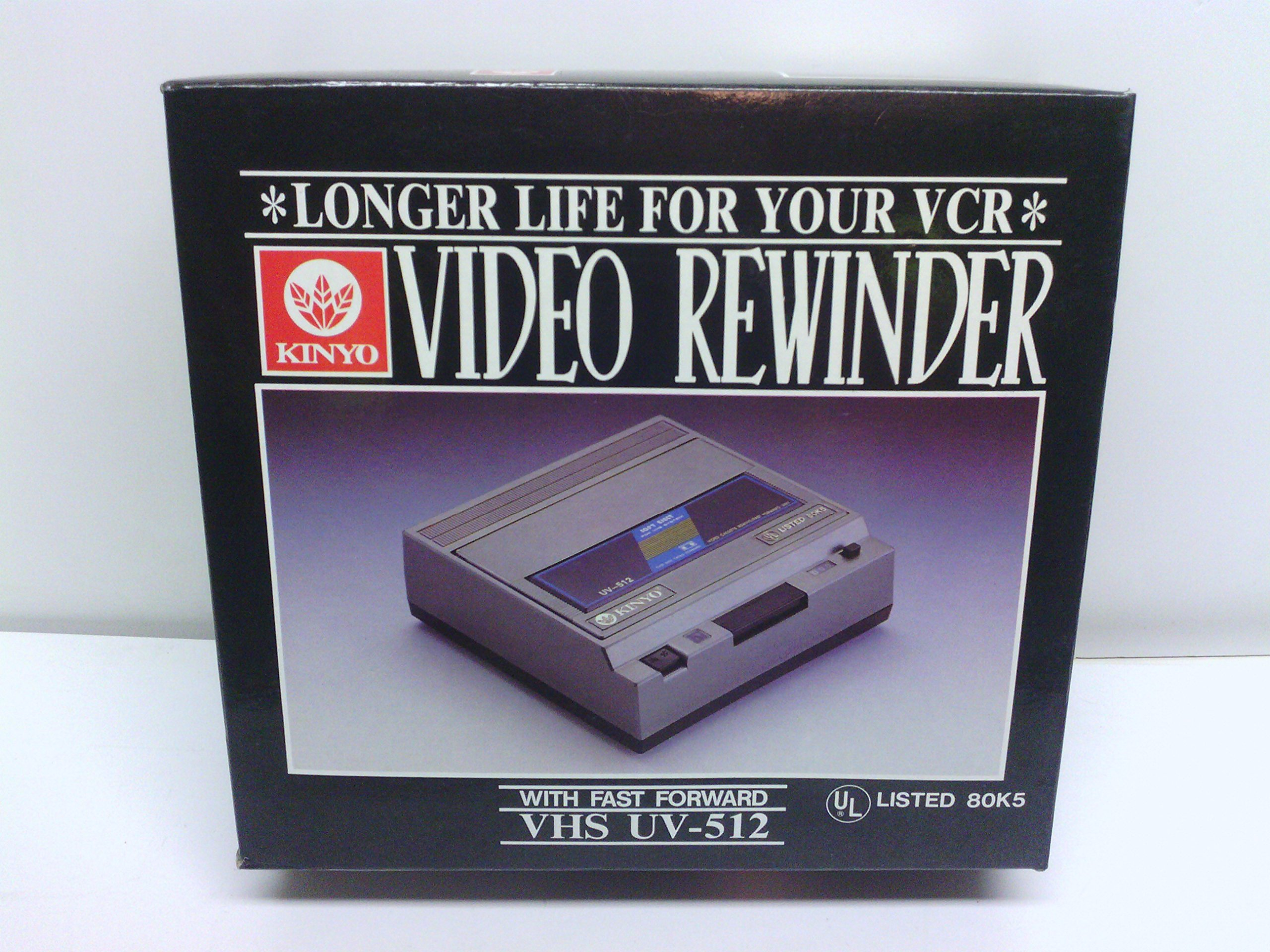 Kinyo Video Rewinder with Fast Forward