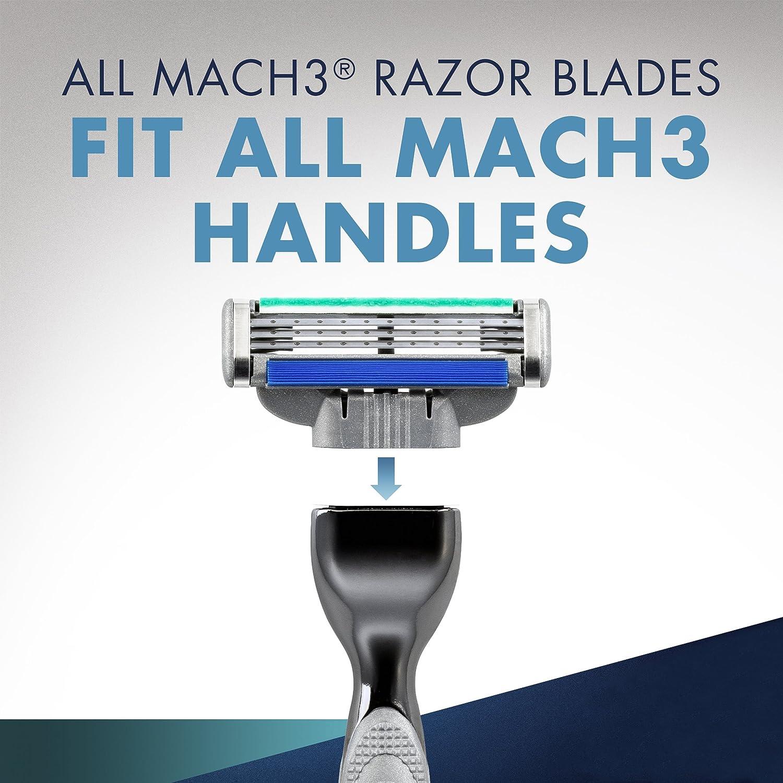 Amazon.com: Gillette Mach3 Turbo Mens Razor Blade Refills, 5 Cartridge: Beauty