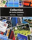Exacompta 96115E Album de Collection pour 200 Cartes Postales - Bleu 20 x 25,5 cm