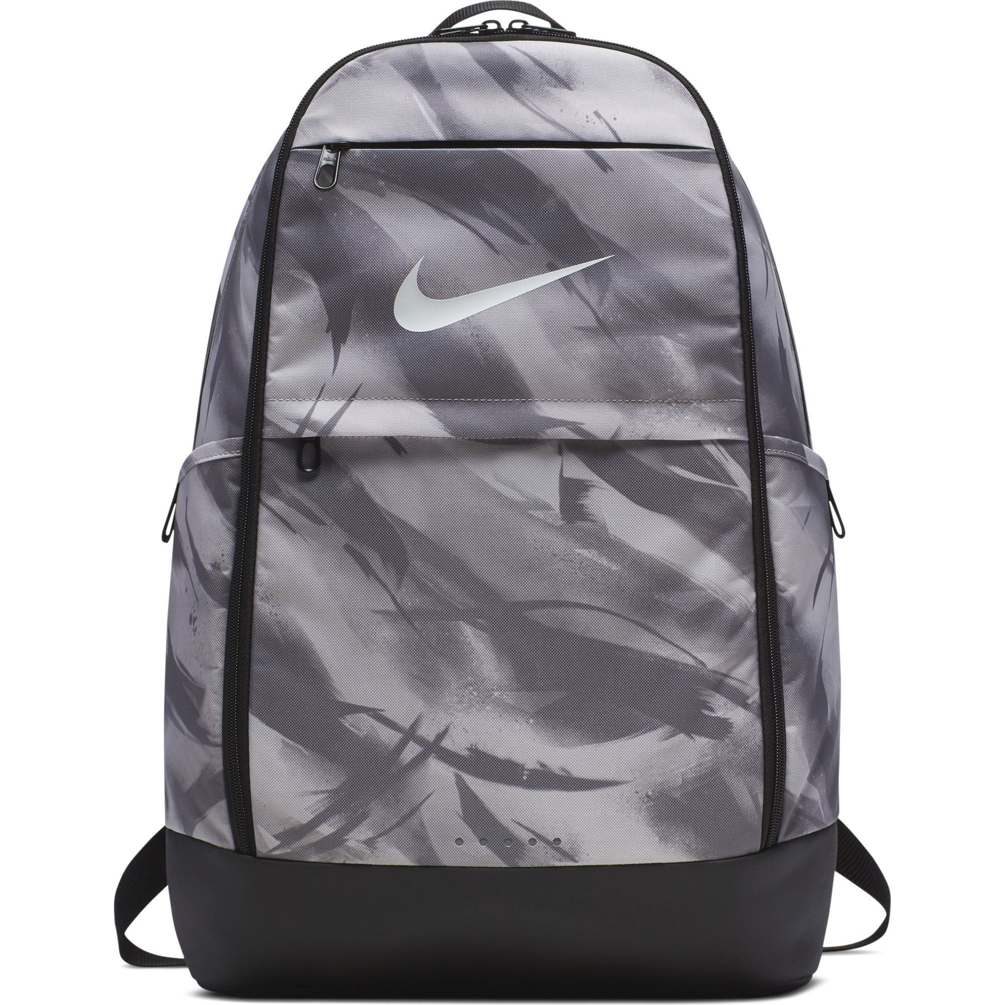 Durable design. Secure storage. The NIKE Brasilia All Over Print Backpack  ... 0331f8459d9c7
