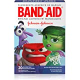 Band-Aid Brand Adhesive Bandages Featuring Disney/Pixar Inside Out, Assorted Sizes, 20 Count