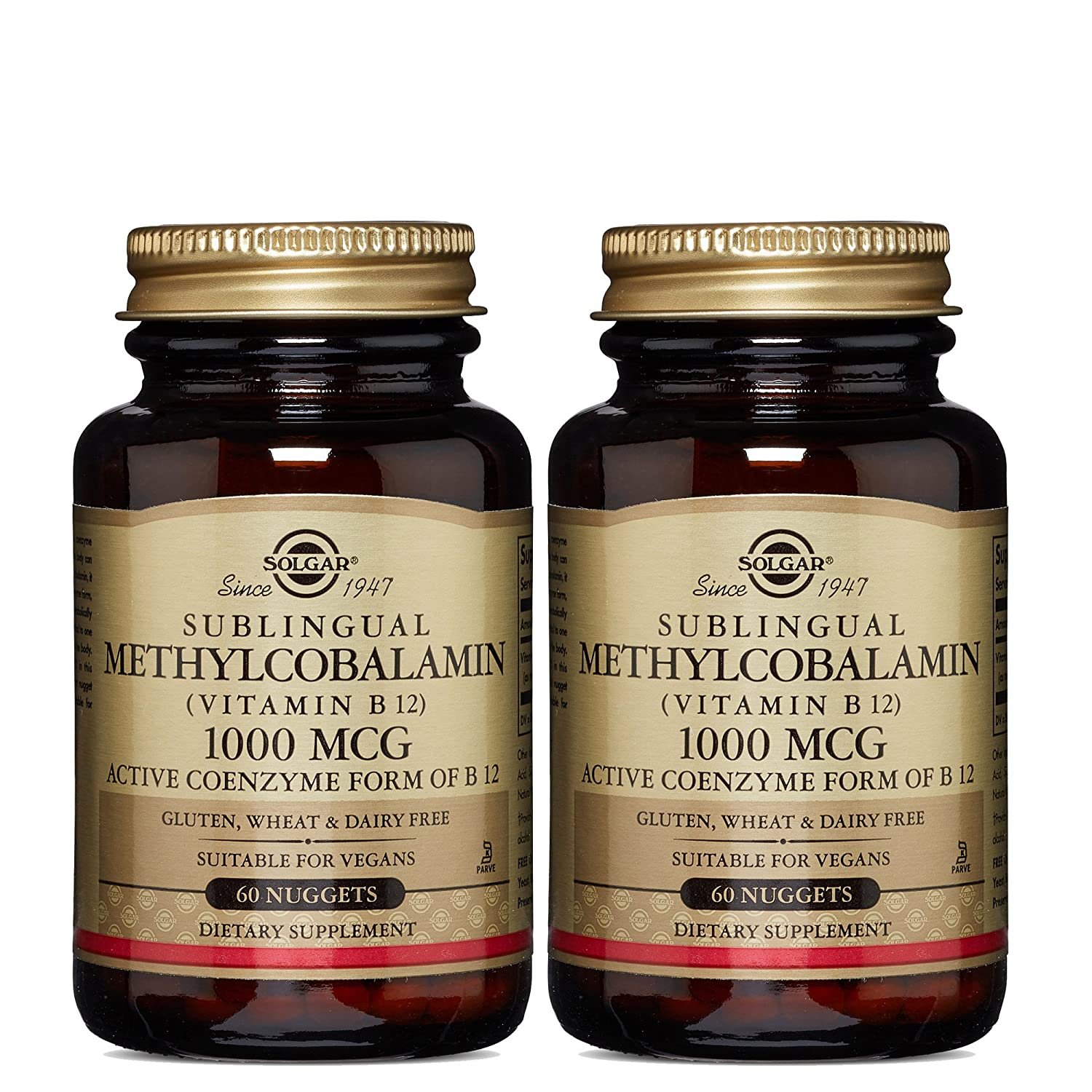 Amazon.com: Solgar – Methylcobalamin (Vitamin B12) 1000 mcg, 60 ...