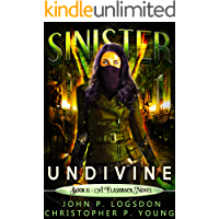 Sinister: Undivine: A Flashback Novel (Black Ops Paranormal Police Department Book 6) book cover