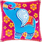 European Quality Fairy Needlepoint Kit Throw Pillow 16/×16 Inches Printed Tapestry Canvas