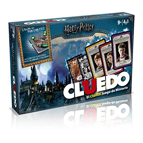 Winning Moves Cluedo Harry Potter 40X26-+9 Años, multicolor (ELEVEN FORCE 82288)