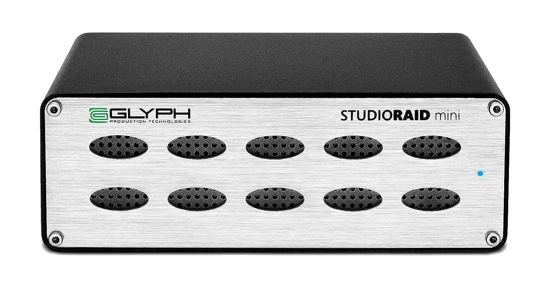 Glyph Studio RAID Mini SRM10000B 10TB External Hard Drive RAID 0 or 1 (7200 RPM, USB 3, FW800, eSATA)