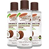 Palmer's Coconut Oil Formula Hair Polisher Serum, 6 Ounce (Pack of 3)