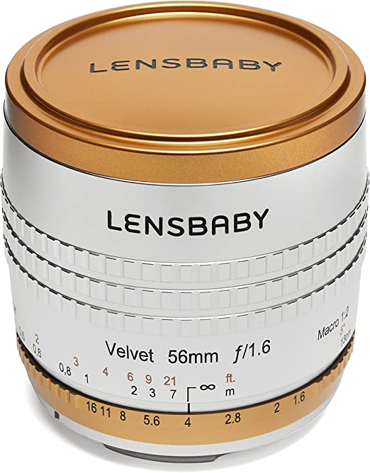 Lensbaby Velvet 56 Limited Edition Für Canon Ef Kamera