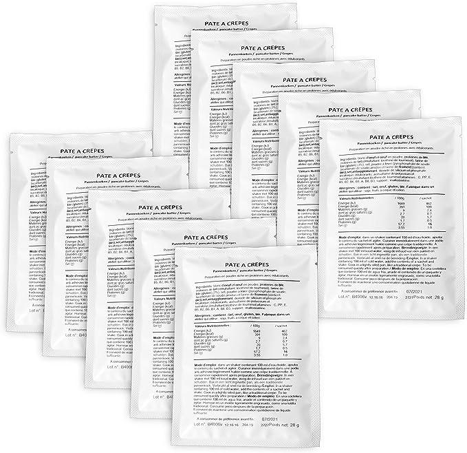 CALYFORM Tortitas Proteínas para dieta saciante | Proteína en Polvo para dieta proteica de calidad y aporte en aminoácidos esenciales (10 sobres)