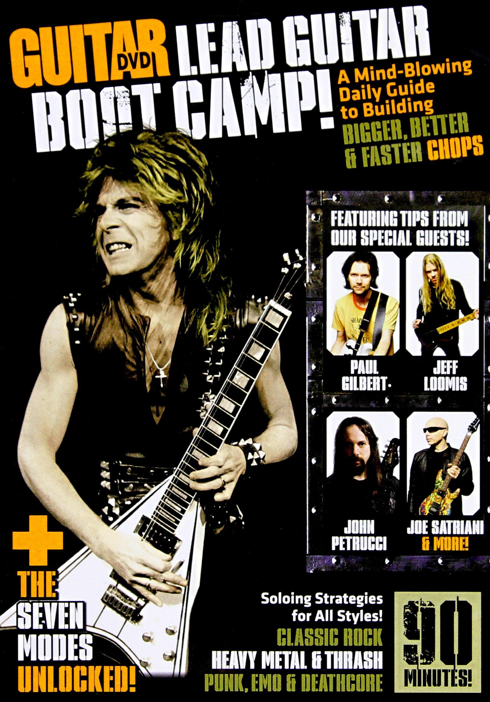 DVD : Andy Aledort - Guitar World: Lead Guitar Boot Camp (DVD)