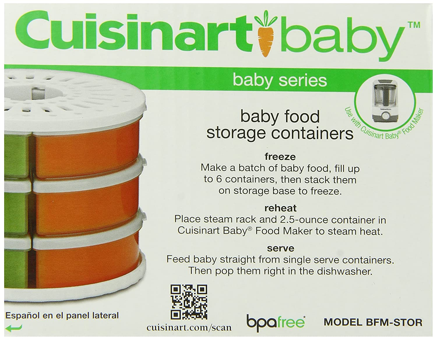 Cuisinart BFM-STOR Baby Food Storage Container