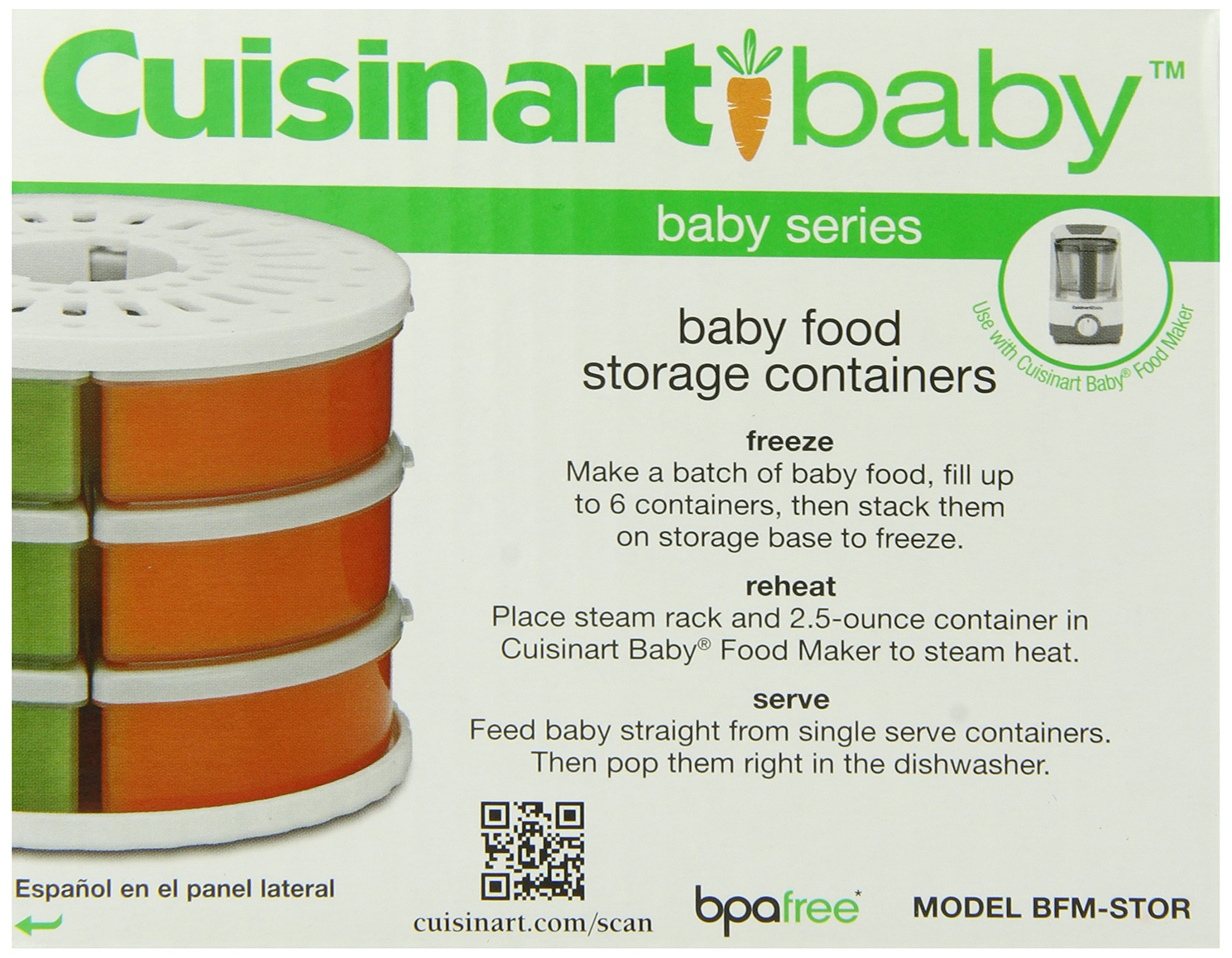 Cuisinart Baby Food Maker Bottle Warmer W Storage Container