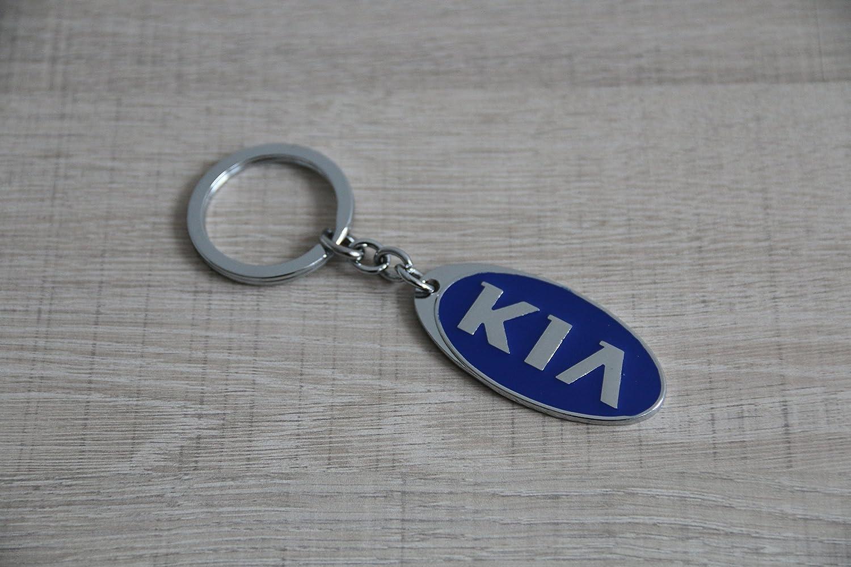 Llavero KIA Logo Llavero de acero pulido: Amazon.es: Coche y ...
