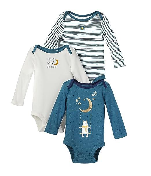 100/% Soft Organic Cotton Eco Boy Girl Babybugz Organic Long Sleeve Bodysuit