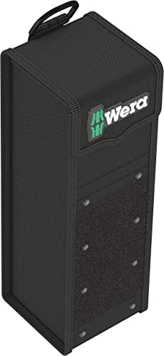Wera 05004356001 2GO 7 High Tool Box, 100 x 105 x 300 mm, Black