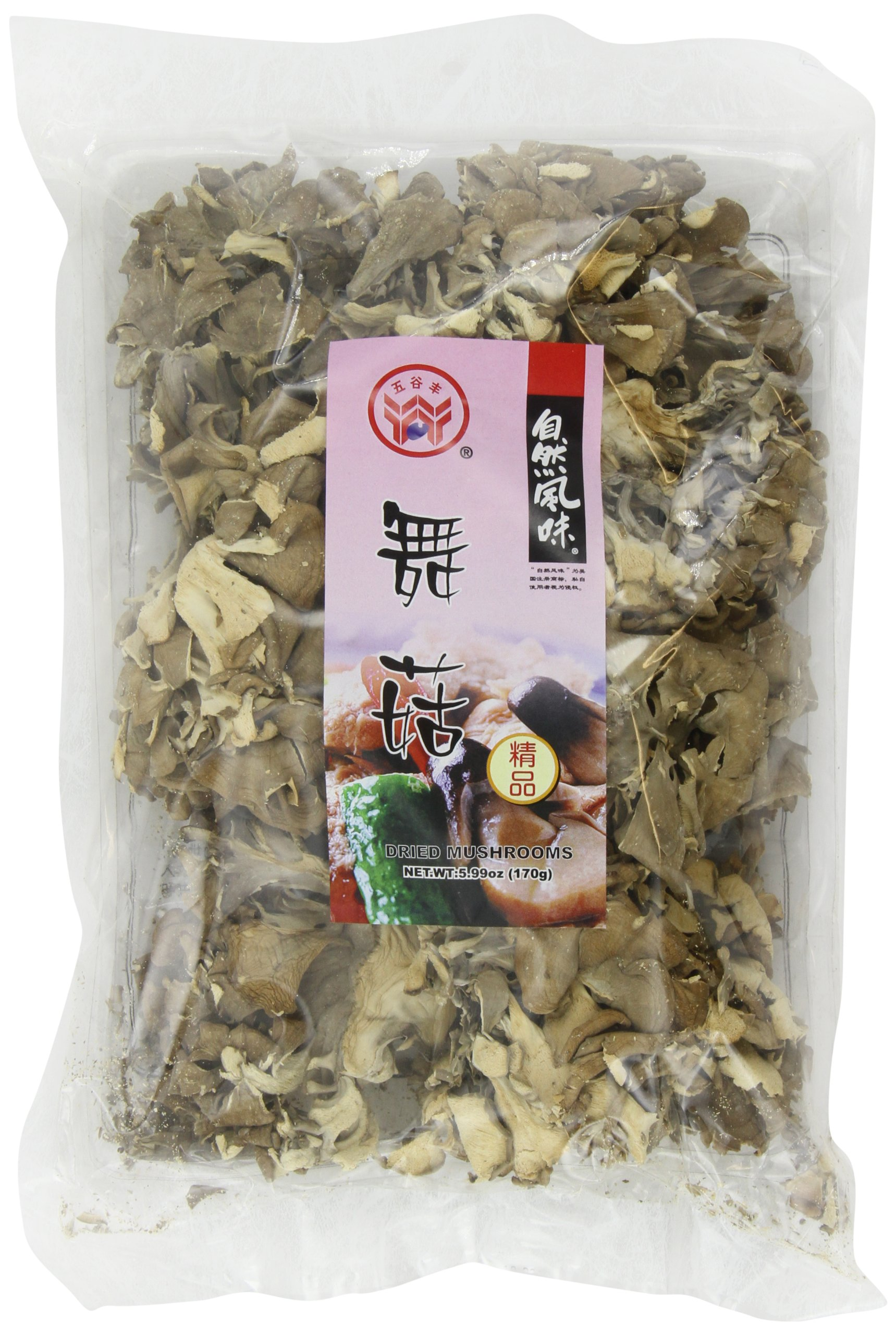 Havista Dried Mushrooms, Maitake, 5.99-ounce