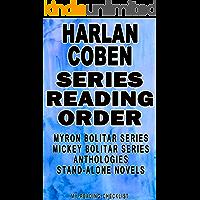 HARLAN COBEN: SERIES READING ORDER: MY READING CHECKLIST: MYRON BOLITAR SERIES, MICKEY BOLITAR SERIES, HARLAN COBEN'S…