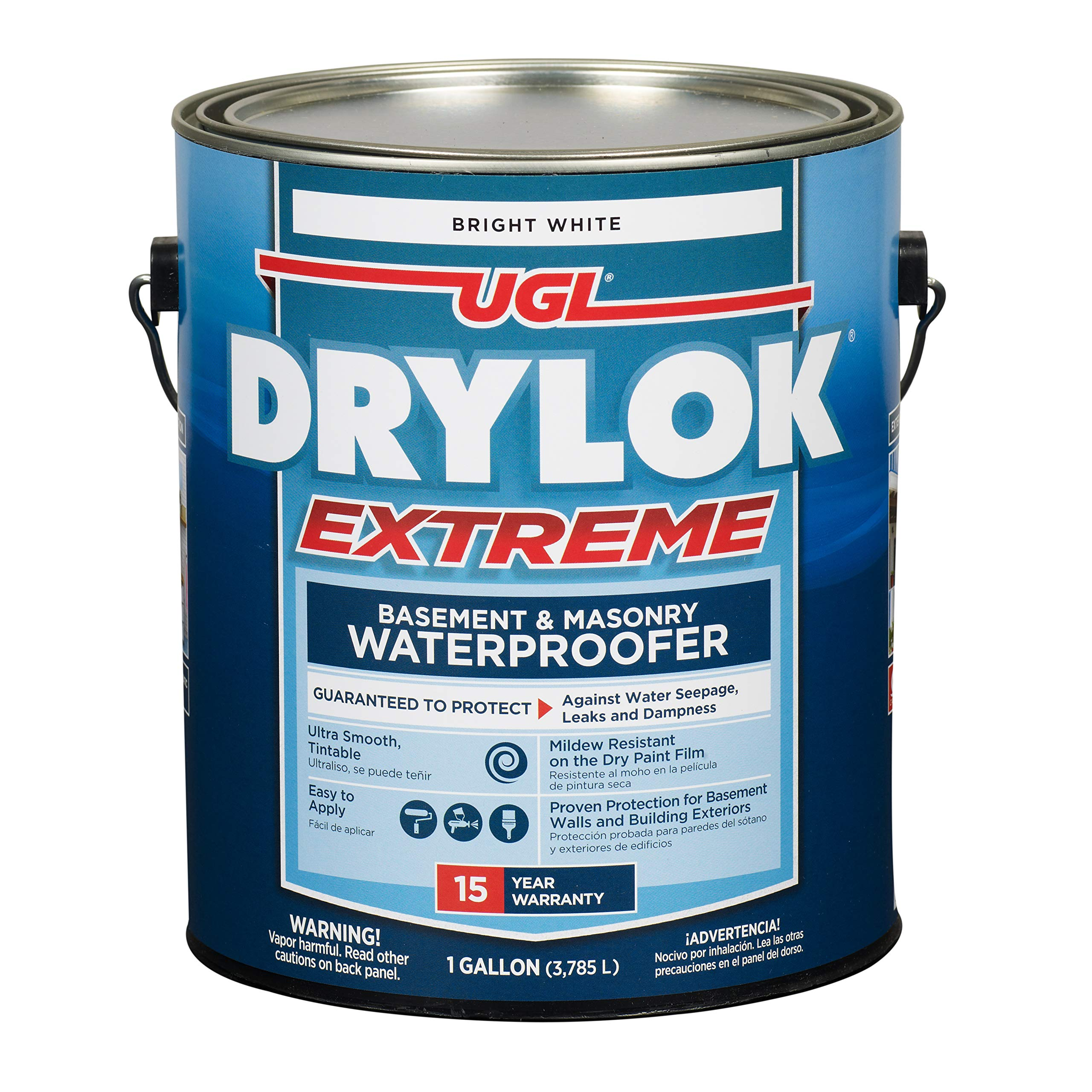 Drylok Drylok-28613 28613 Extreme Latex Masonry Waterproofer Interior/Exterior Smooth Finish, White