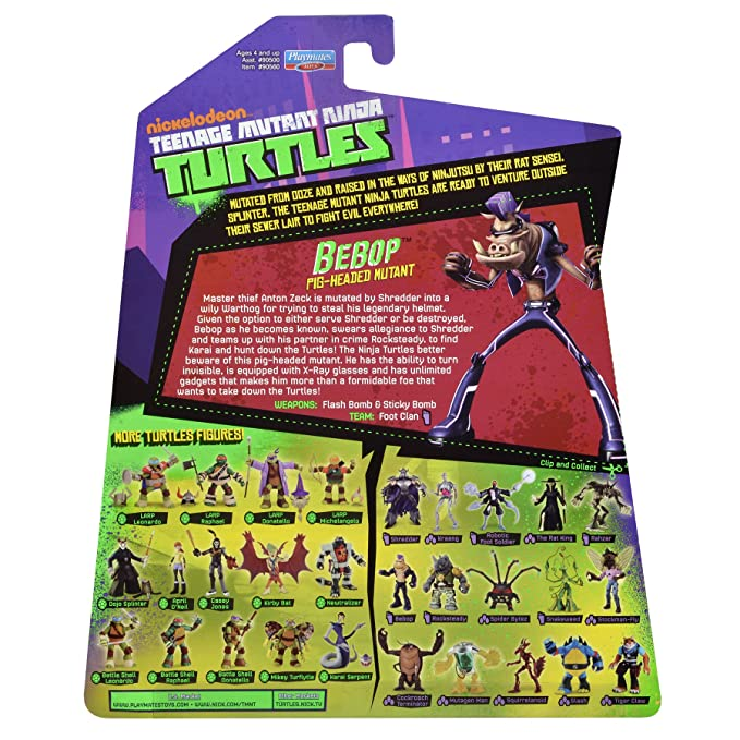 Nickelodeon Teenage Mutant Ninja Turtles Bebop Figura ...