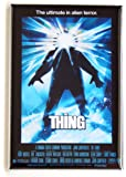 The Thing (1982) Movie Poster Fridge Magnet (2 x 3 inches)
