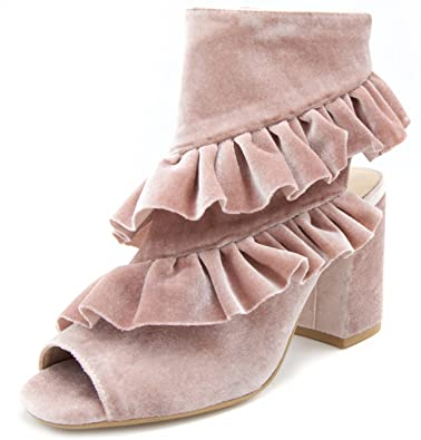 Women's Intoxicate Ankle Boot Bootie With Slouch Overlays