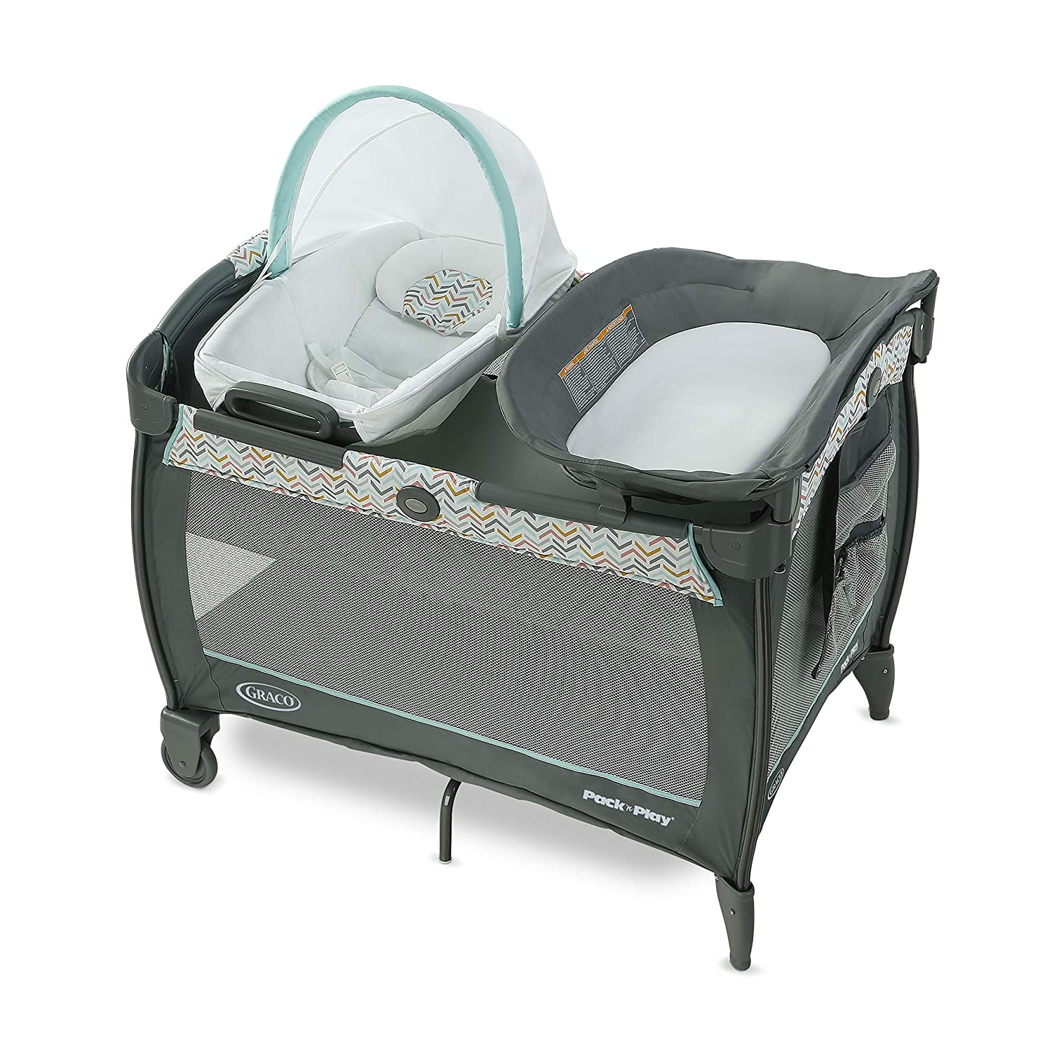 Graco Pack 'n Play Close2Baby Playard, Sorbet