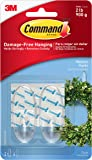 Command Christmas Wreath Hook For Front Door Wreaths With