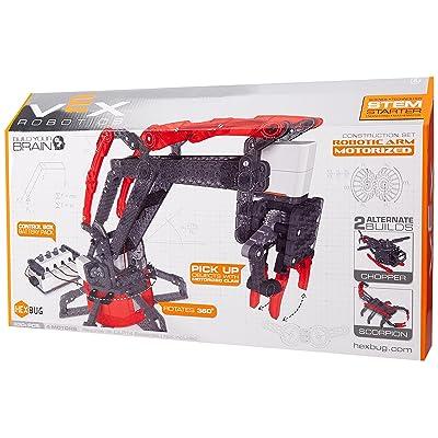 HEXBUG VEX Motorized Robotic Arm: Toys & Games