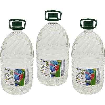 Vinagre de Limpieza Concentrado Profesional al 10%, con Aroma a Limón | Pack de 3 GARRAFAS de 5 litros