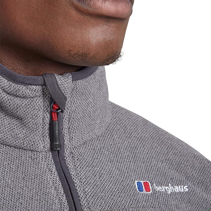 Berghaus Stainton Half Zip Mens Jacket Fleece Dusk Marl All Sizes