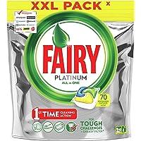 Fairy All-In-One Vaatwasser Tabletten Citroen, 70 Tabletten