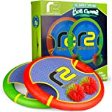 Bouncy Disc Paddle Ball Game & Frisbee: Kids Toss and Catch Balls Set Outdoor Games for Yard, Beach, Trampoline & Pool…