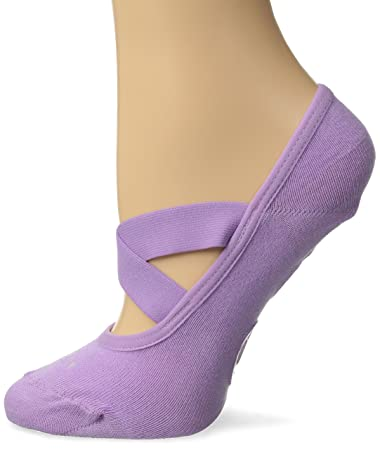 1543cec90 Amazon.com   Lupo Women s Essential No Slip Crossover Yoga Pilates ...