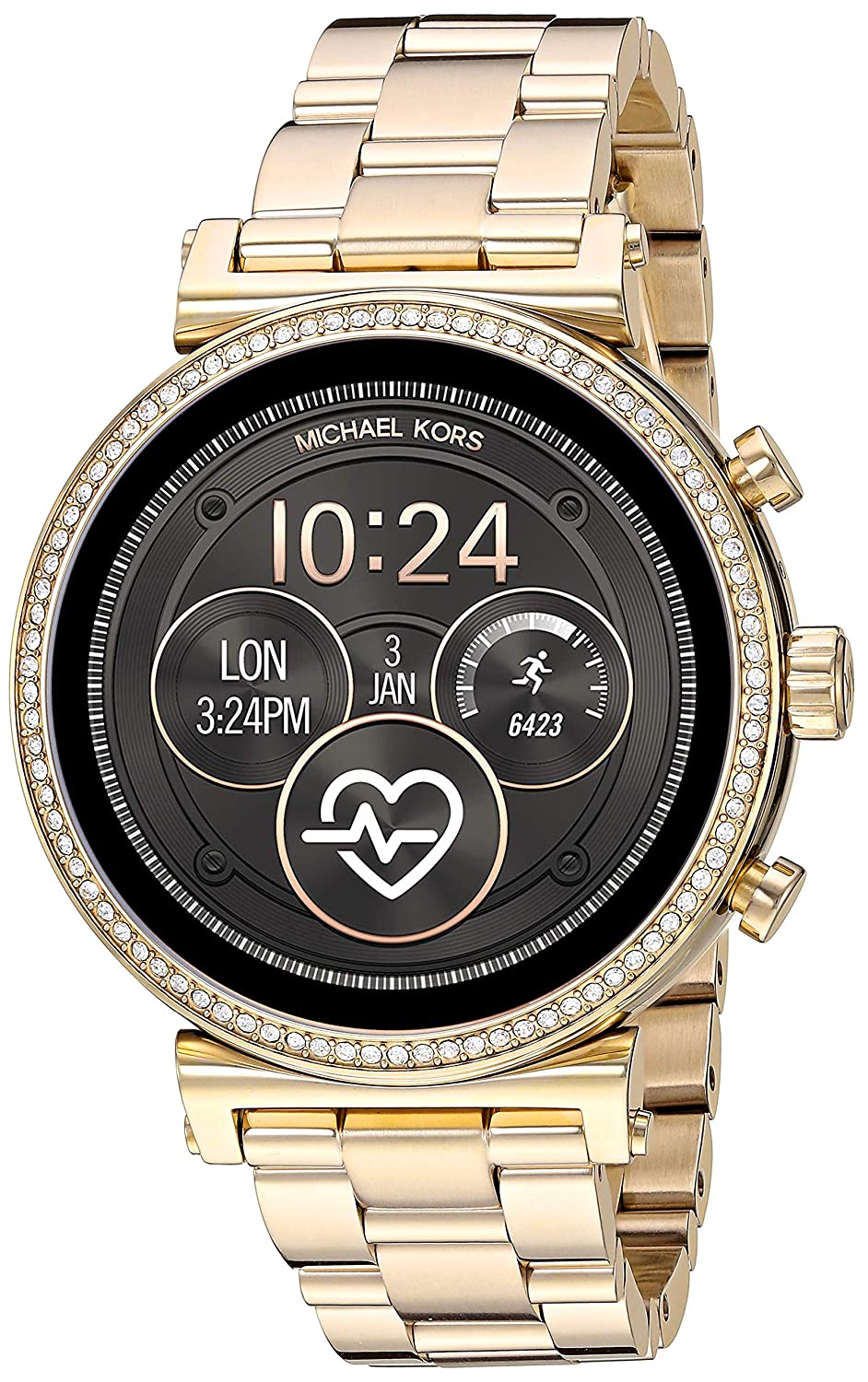 Michael Kors Access Sofie Heart Rate Smartwatch Powered