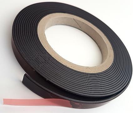 Magnetband auf Magnetband selbstklebend 12,5 mm x 1,5 mm versandkostenfrei innerhalb DE 2 x 10 Meter