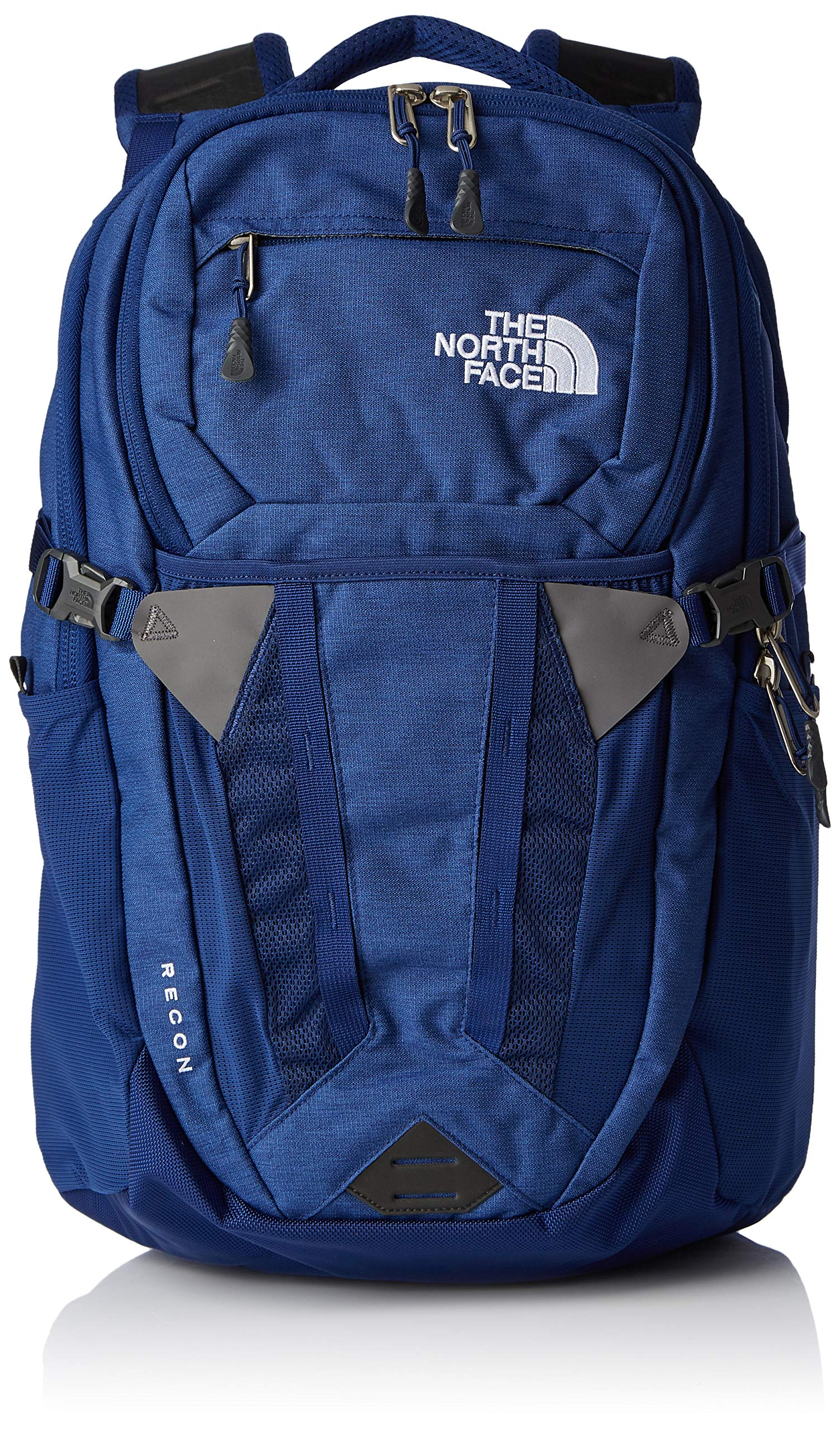 The North Face Recon Backpack- Flag Blue Dark Heather & TNF White - OS