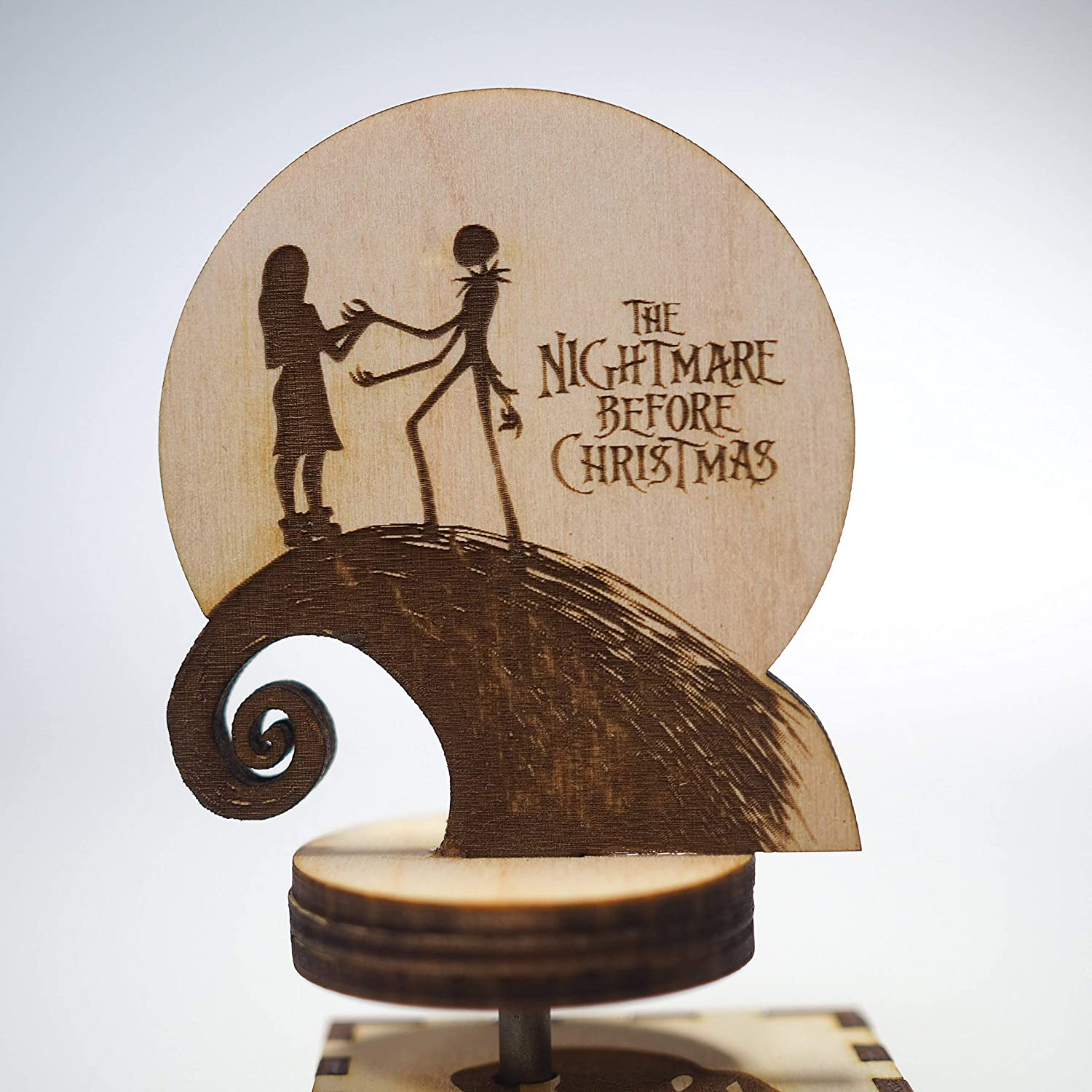 Amazon.com: The Nightmare Before Christmas Music Box - Laser cut and ...