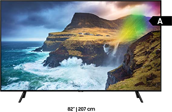Samsung GQ82Q70RGTXZG 207 cm (82 Pulgadas) TV Plana/Flat QLED Q70R ...