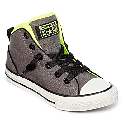 converse for kids. converse kids chuck taylor all star static mid top fashion sneaker shoes (5 us m for i