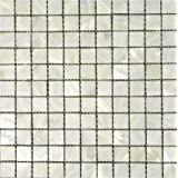 """White Mother of Pearl Tile - Shell Tiles12"""" X 12"""" Mesh-mounted - Home Elements"""