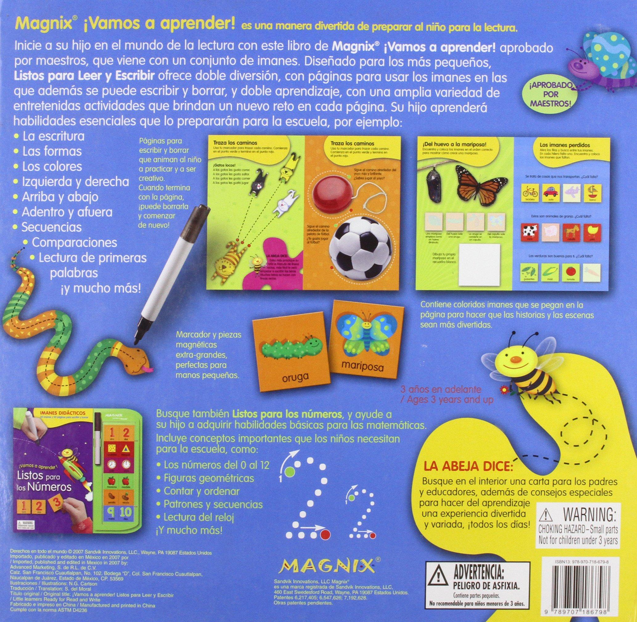 Listos para leer y escribir / Ready to Read & Write (Vamos a Aprender/ Little Learners) (Spanish Edition): Silver Dolphin En Espanol: 9789707186798: ...