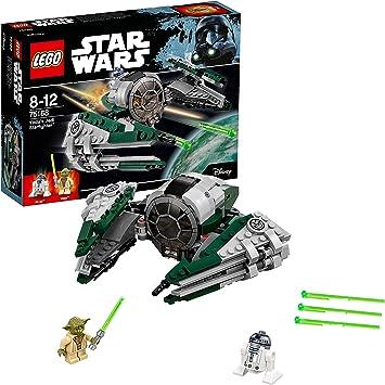 Oferta amazon: LEGO STAR WARS - Jedi Starfighter de Yoda (75168)