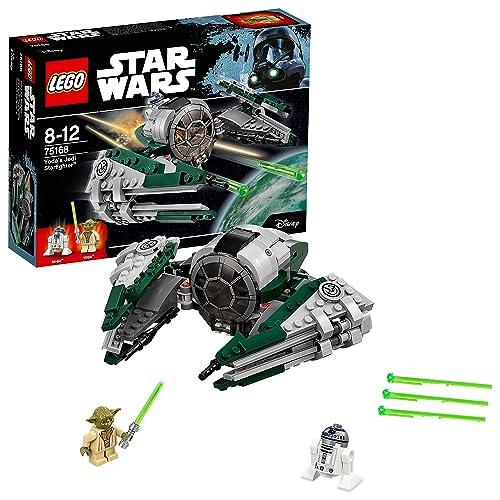 LEGO Star Wars - Yoda's Jedi Starfighter - 75168 - Jeu de Construction