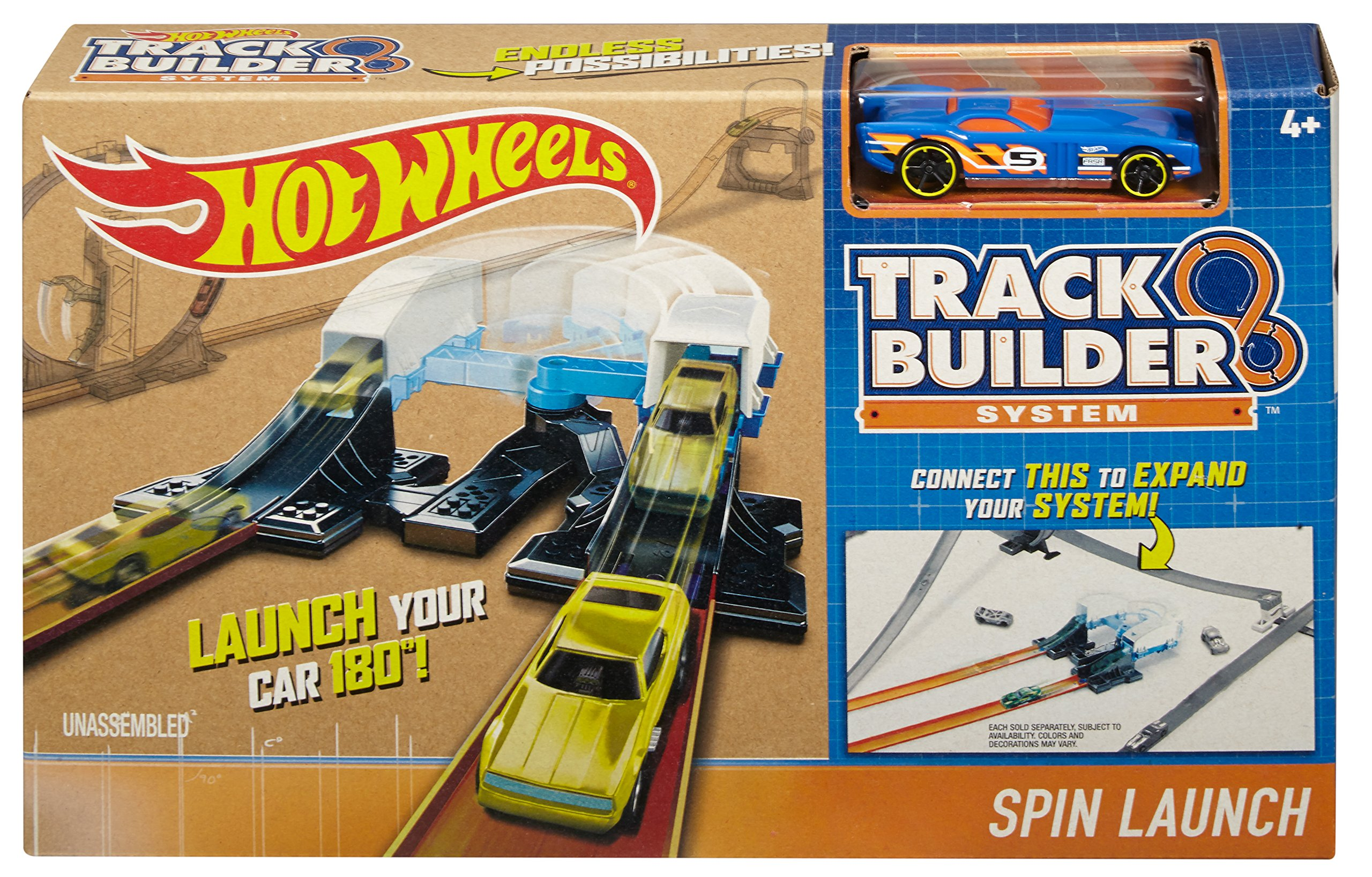 hot wheels track builder system power booster kit instructions