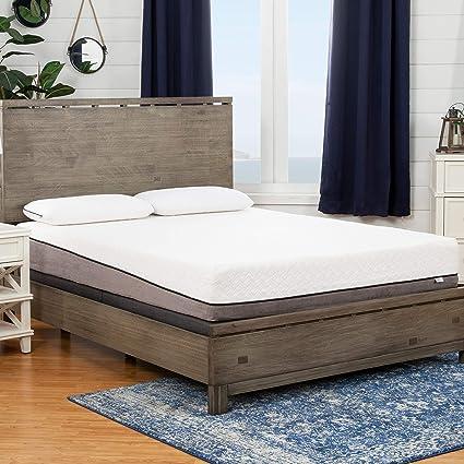 Amazon Com Sleep Zone Huntington 10 Inch Queen Size Memory Foam