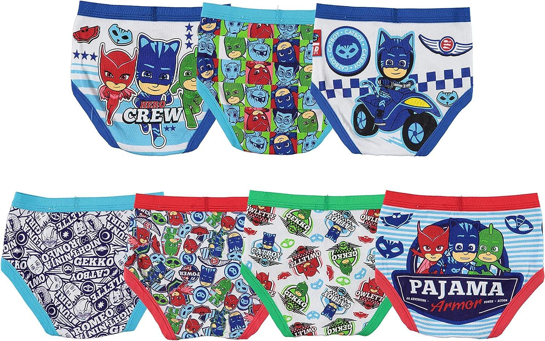 PJ MASKS PJMASKS Boys 7-Pack Brief Underwear 7-Pack Brief Underwear Underwear