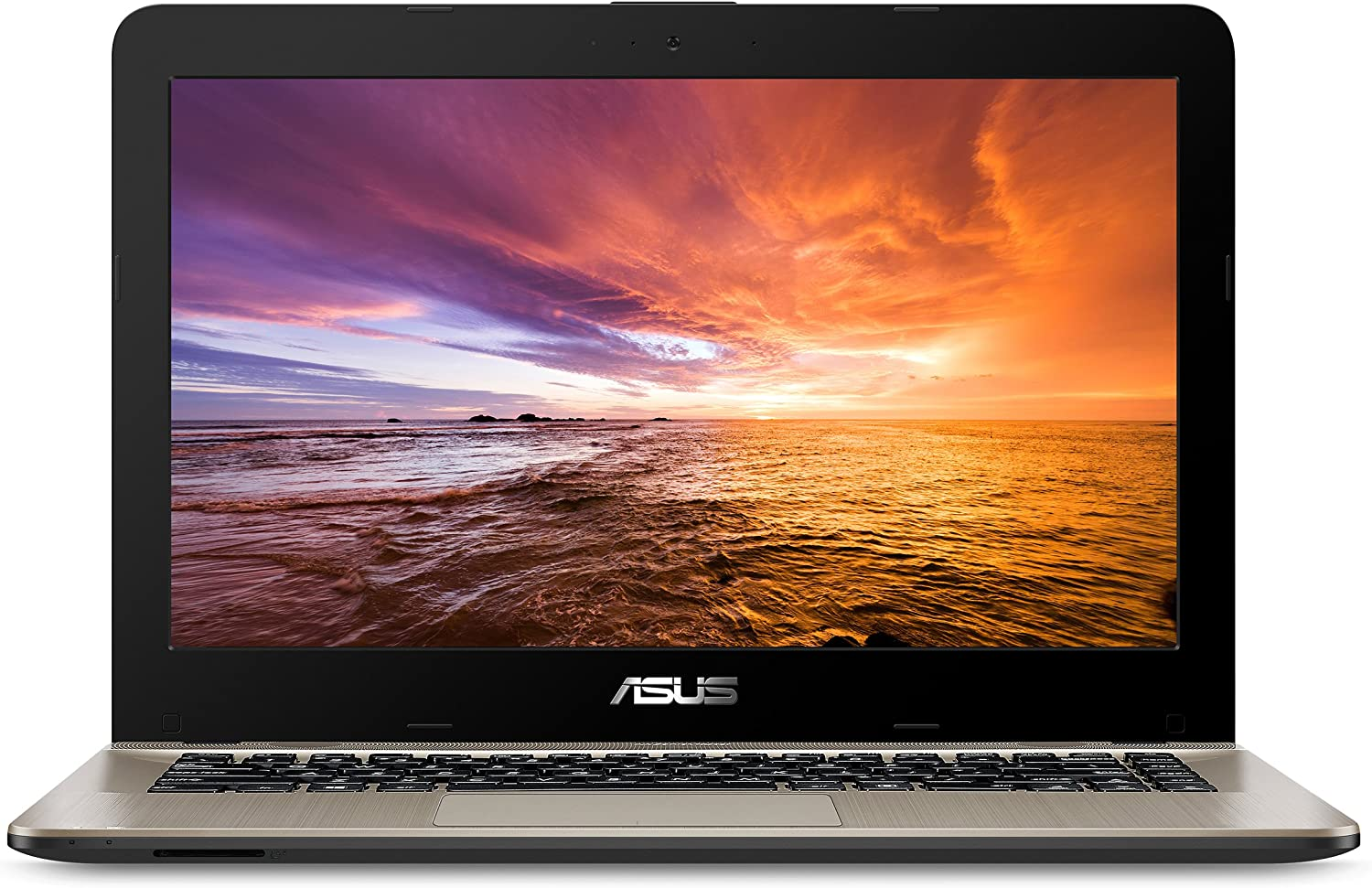 "Asus VivoBook F441 Light and Powerful Laptop, AMD A9 Dual Core Processor (Boost Up to 3.6 GHz), Radeon R5 Graphics, 8GB DDR4 RAM, 256GB SSD, 14"" FHD Display, Windows 10, F441BA-DS94"